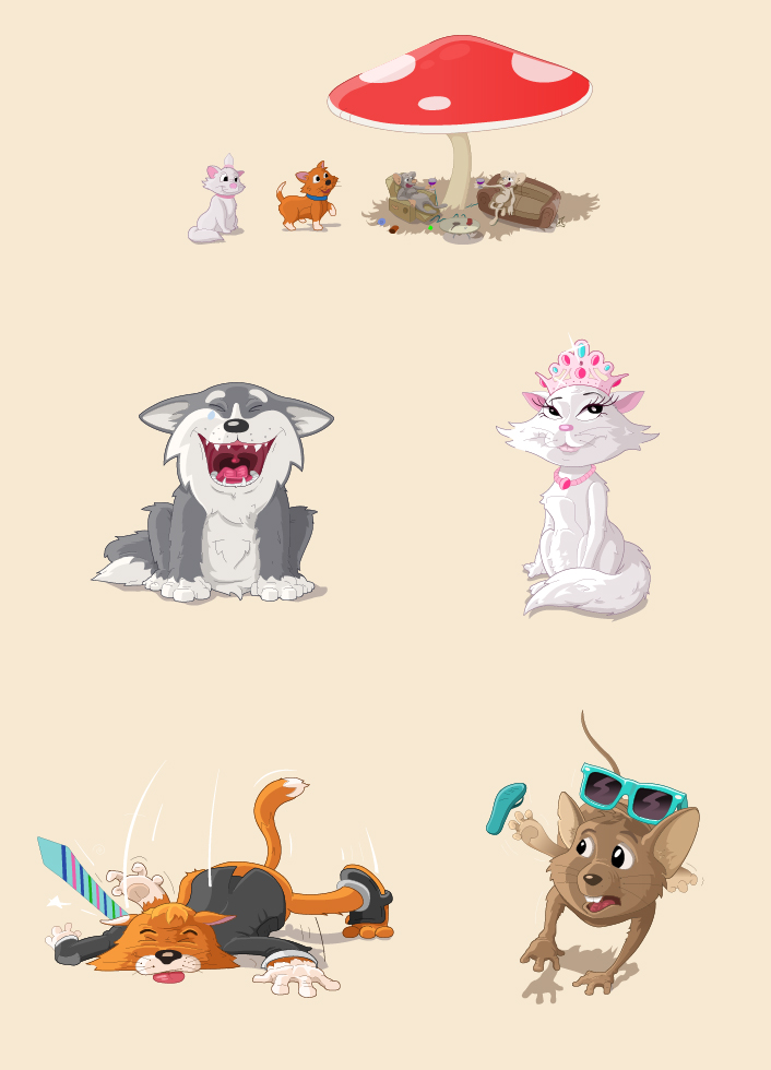 Cr ation personnages jeux flashs cr ation personnages animaux for Idee de creation d entreprise animaux